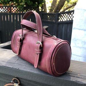Never used vintage vegan leather bag